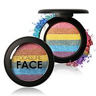 Χαμηλού Κόστους FOCALLURE-6 Χρώματα Πούδρες Πούδρα Highlighter & Bronzer Ξηρό / Λαμπύρισμα / Mineral Αδιάβροχη / Γκλος Λαμπερής Χρυσόσκονης / Χρωματιστό γκλος Πρόσωπο Κίνα Μακιγιάζ Καλλυντικό