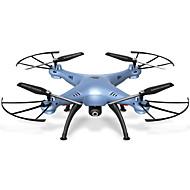 Χαμηλού Κόστους SYMA®-RC Ρομποτάκι SYMA X5HW 4 Kανάλια 6 άξονα 2,4 G Με κάμερα HD 0.3MP 480P Ελικόπτερο RC με τέσσερις έλικες FPV / Επιστροφή με ένα kουμπί /