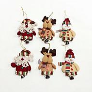 6db kiváló minőségű karácsonyi díszek kis harang