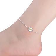 kvinders sterling sølv Ankelkæde smykker 1pc