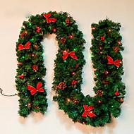 feliz navidad de CAA de Ratn navidad wreathoriginal Verde de navidad Garland partido decoracin de Ratn pvc ornamento