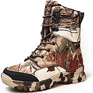 Χαμηλού Κόστους Παπούτσια για πεζοπορία-Ανδρικά Μπότες Χιονιού Πανί Άνοιξη / Φθινόπωρο / Χειμώνας Ανατομικό Μπότες Πεζοπορία Καφέ