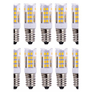 10Pcs Johdolliset Others E14 51Led Smd2835 5w  850Lm AC220   White Warm Natural White Small Ceramic Corn Lamp Other