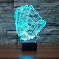 luvas touch escurecimento luz led 3d luz 7colorful decoração atmosfera lâmpada novidade iluminação luz