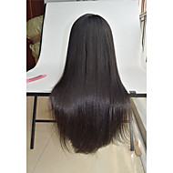 8''-26'' silky straight human hair wigs Malaysian virgin hair pre plucked wigs straight hair wigs lace front wig