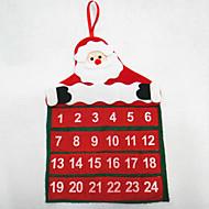 natal calendário papai noel calendário 30 * 40cm