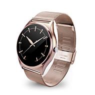 tanie Inteligentne zegarki-Inteligentny zegarek Ekran dotykowy Pulsometr Krokomierze Śledzenie odległości Odbieranie bez użycia rąk Obsługa wiadomości Obsługa