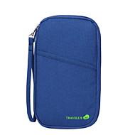 旅行用ウォレット パスポート&IDホルダー 防水 携帯用 防塵 小物収納用バッグ のために クロス ナイロン /