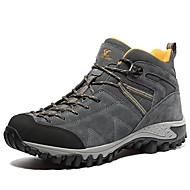 baratos Sapatos Masculinos-Homens Curta/Ankle Camurça Primavera / Verão / Outono Conforto Tênis Aventura Cinzento / Café