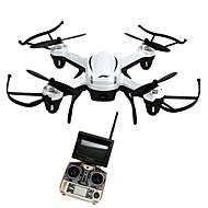 Χαμηλού Κόστους JJRC®-RC Ρομποτάκι JJRC H32GH 4 Kανάλια 6 άξονα 5.8G Με κάμερα HD 2.0MP Ελικόπτερο RC με τέσσερις έλικες Φώτα LED / Επιστροφή με ένα kουμπί /