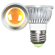 billige Spotlys med LED-2pcs 5 W 2700-3000/6000-6500 lm E26 / E27 LED-spotpærer 1 LED perler COB Mulighet for demping Varm hvit / Kjølig hvit 220-240 V / 110-130 V / 2 stk. / RoHs