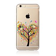 Carcasă Pro Apple iPhone X iPhone 8 Plus iPhone 7 iPhone 6 Pouzdro iPhone 5 Průhledné Vzor Zadní kryt Strom Měkké TPU pro iPhone X iPhone