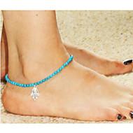 נשים תכשיט לקרסול/צמידים סגסוגת אופנתי ארופאי תכשיטים חמסה תכשיטים עבור חתונה Party יומי קזו'אל
