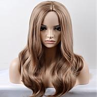 お買い得  人工毛ウィッグ-合成 ウィッグ ルーズウェーブ ミドル部 カーニバルウィッグ ハロウィンウィッグ ナチュラルウィッグ ロング 非常に長いです ベージュ
