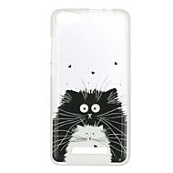 ウィキlenny 3のための日没2ケースカバー猫のパターンの後ろカバー柔らかいtpuレニー3日没2