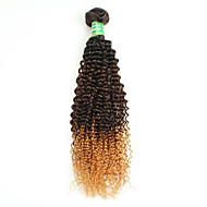 1b/4/30 Ombre Curly Hair Extensions Brazilian Ombre Curly Weave Human Hair Bundles Brazilian Ombre Curly Hair
