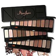 10 Paleta de Sombras Secos / Mineral Paleta da sombra Pó Normal Maquiagem para o Dia A Dia