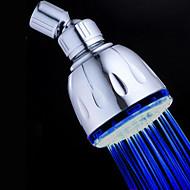 עכשווי מקלחת גשם כרום מאפיין for  LED / גשם / ידידותי לסביבה , ראש המקלחת