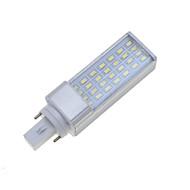 billige Bi-pin lamper med LED-SENCART 7W 550-600 lm E26/E27 G24 LED-lamper med G-sokkel Roterbar 28 leds SMD 5630 Mulighet for demping Dekorativ Varm hvit Kjølig hvit