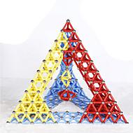 Magnetická hračka Magnetické tyčinky Magnetické hračky Vzdělávací hračka Věda a objevy Sady magnetických staveb 84 Pieces 5mm Hračky