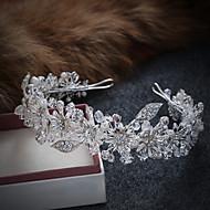 人造真珠 合金 - ティアラ ヘッドバンド 花輪 1 結婚式 パーティー カジュアル かぶと