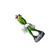ディスプレイモデル プラモデル&組み立ておもちゃ おもちゃ アイデアジュェリー カエル シリコーン グレー 男の子向け 女の子向け