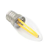 billige Globepærer med LED-1.5 W 80-100 lm E12 LED-globepærer T 2 leds COB Dekorativ Varm hvit AC 220-240V
