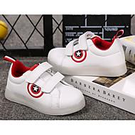baratos Sapatos de Menino-Para Meninos Sapatos Couro Ecológico Primavera Verão Conforto / Tênis com LED Tênis LED para Branco / Preto