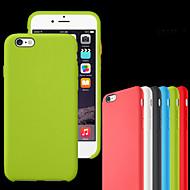 用途 iPhone 8 iPhone 8 Plus iPhone 7 iPhone 7 Plus iPhone 6 iPhone 6 Plus ケース カバー 耐衝撃 Other バックカバー ケース 純色 ソフト シリコン のために Apple iPhone 8 Plus