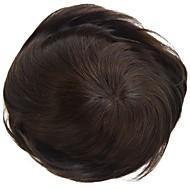 değiştirme sistemleri mono dantel ve doğal renk saç peruk etrafında pu poli saç parçası stok% 120 yoğunluğunu mens