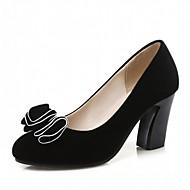 baratos Sapatos Femininos-Feminino Saltos Inovador Conforto Courino Couro Envernizado Primavera Verão Outono Casamento Casual Social Festas & Noite Caminhada