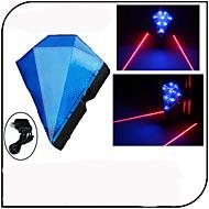 お買い得  自転車用ライト&反射鏡-自転車用ライト 安全ライト 後部バイク光 レーザー LED - サイクリング 充電式 防水 レーザー その他 80 ルーメン USB サイクリング - XIE SHENG®