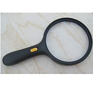 虫眼鏡 LED ポータブル Magnification 5X 138mm プラスチック
