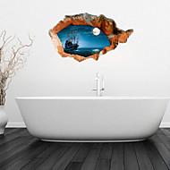 رخيصةأون -ملصقات وأشرطة بوتيك PVC 1PC - حمام اكسسوارات الحمام الأخرى