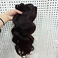 Натуральные волосы Бразильские волосы Человека ткет Волосы Естественные кудри Наращивание волос 3 предмета Черный