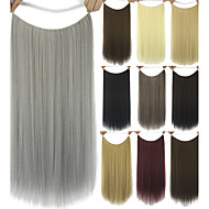 Human Hair Extensions Synthetic 80G 60CM Hair Extension