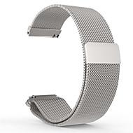 billiga Smart klocka Tillbehör-Klockarmband för Pebble Time Round Pebble Milanesisk loop Rostfritt stål Handledsrem
