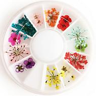 1 pcs Nail Art Design Blomst / Mode Daglig