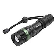 LED Lommelygter Sykkellykter Cree XR-E Q5 Sykling Justerbart Fokus Oppladbar Kompaktstørrelse Lumens Batteri Hvit Sykling Utendørs