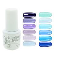 hesapli Sadece Avrupa'da satılır-Polonya UV Jel Tırnak 0.005 1 UV Renkli Jel Klasik Uzun Ömürlü kapalı emmek Günlük UV Renkli Jel Klasik Yüksek kalite