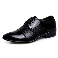 cheap Small Size Shoes-Men's Oxfords Novelty Bullock shoes Formal Shoes PU Spring Fall Wedding Casual Party & Evening Novelty Bullock shoes Formal ShoesSequin