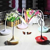 billige Lamper-Moderne / Nutidig Oppladbar / LED Skrivebordslampe Til Plast Rød / Grønn / Rosa