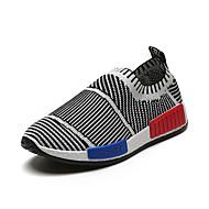 baratos Sapatos de Menino-Para Meninos Sapatos Couro Ecológico Outono Conforto / botas de desleixo Tênis Caminhada para Preto / Vermelho / Azul