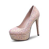 baratos Sapatos de Noiva-Feminino-SaltosSalto Agulha-Branco Vermelho Rosa claro-Sintético-Casamento Social Festas & Noite