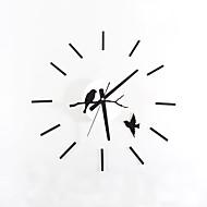cheap Wall Clocks-DIY Modern Fashion Creative Bird on A Branch Wall Clock