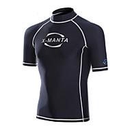 Homens 1mm Mergulho Skins Camisa de Mergulho Anti AtritoProva-de-Água Térmico/Quente Secagem Rápida Resistente Raios Ultravioleta