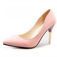 Femme Chaussures à Talons Confort bottes slouch Polyuréthane Printemps Automne Décontracté Marche Confort bottes slouch Talon en Cristal