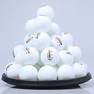 60pcs 3 Sterne Ping Pang/Tischtennisball Kunststoff Geringe Windlast Hochfest Hochelastisch Langlebig