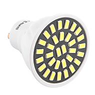GU10 Lâmpadas de Foco de LED T 32 leds SMD 5733 Decorativa Branco Quente Branco Frio 500-700lm 2800-3200/6000-6500K AC 110-130 AC 220-240