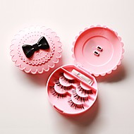 Cosmetic Box אחסון איפור פרח מעוגל פלסטיק תפוז